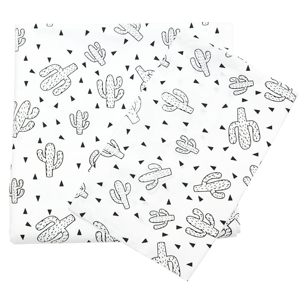 Cacti Large Cot Sheet