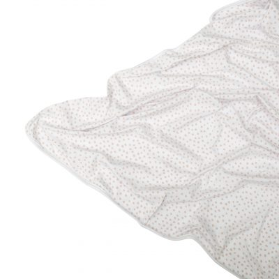 Stretchy Cotton Blanket : Small Smudge Dot (various Colours)