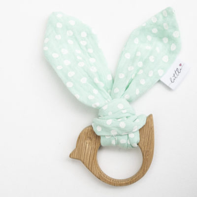 Mint Muslin Teether