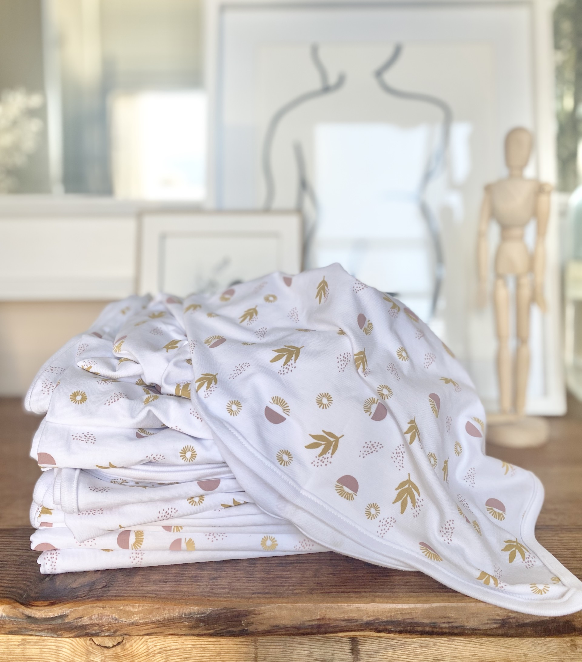 Stretch Cotton Blanket: Boho