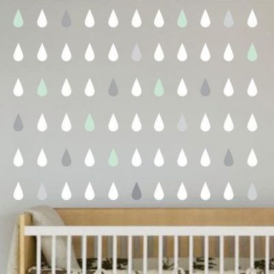 Little Love Wall Decals – Raindrops