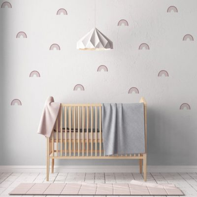Little Love Wall Decals – Multi Rainbow