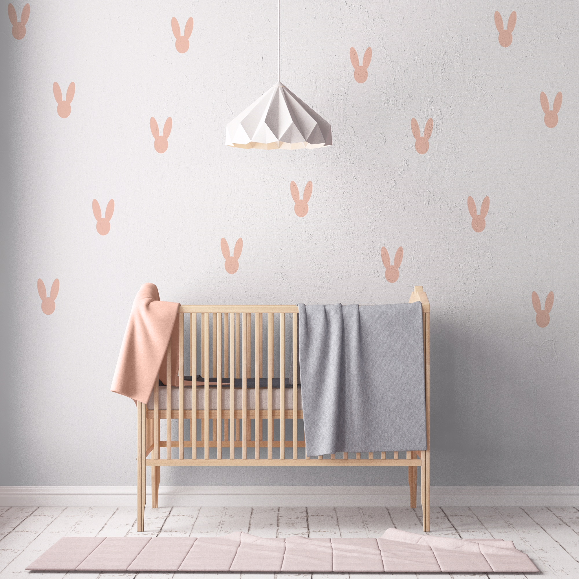 Little Love Wall Decals - Bunnies