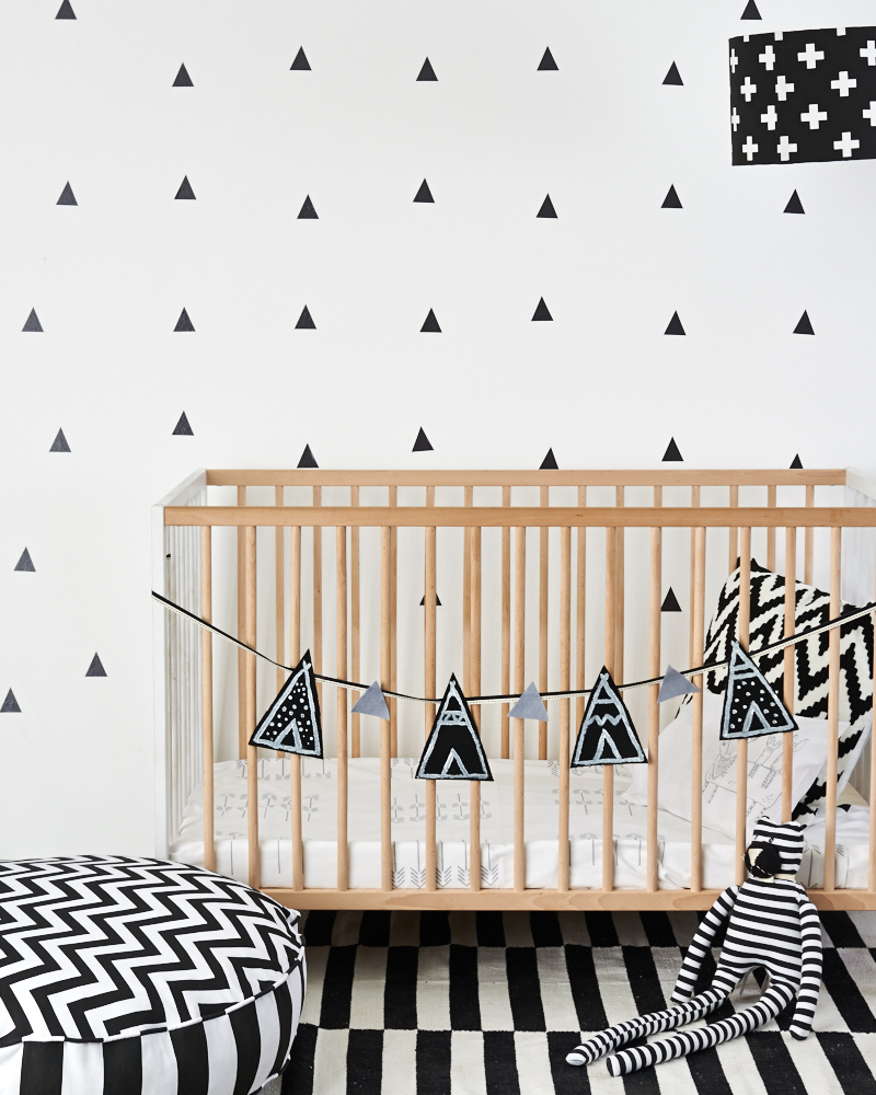 Little Love Wall Decals - Triangles