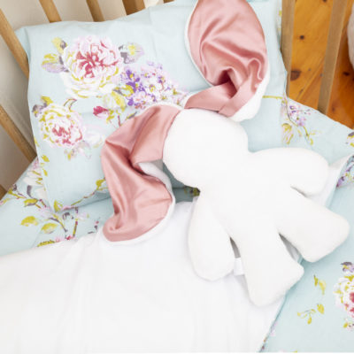 Pink And White Snuggle Bunny – Lily 'n Jack