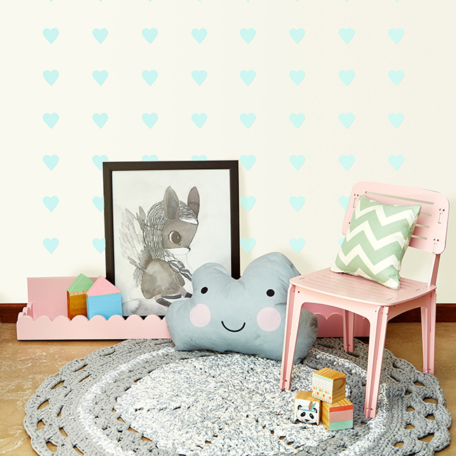 Little Love Wall Decals - Hearts