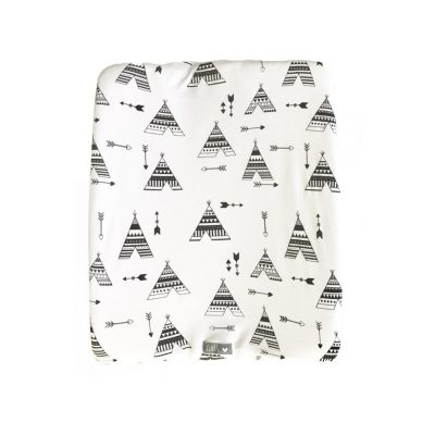 Change Mat Cover – Black Teepee