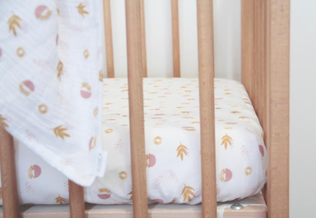 Boho co-sleeper fitted sheet