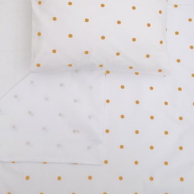 Round Dot Mustard – Co-Sleeper