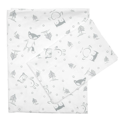 Forest Friends – Large Cot Sheet