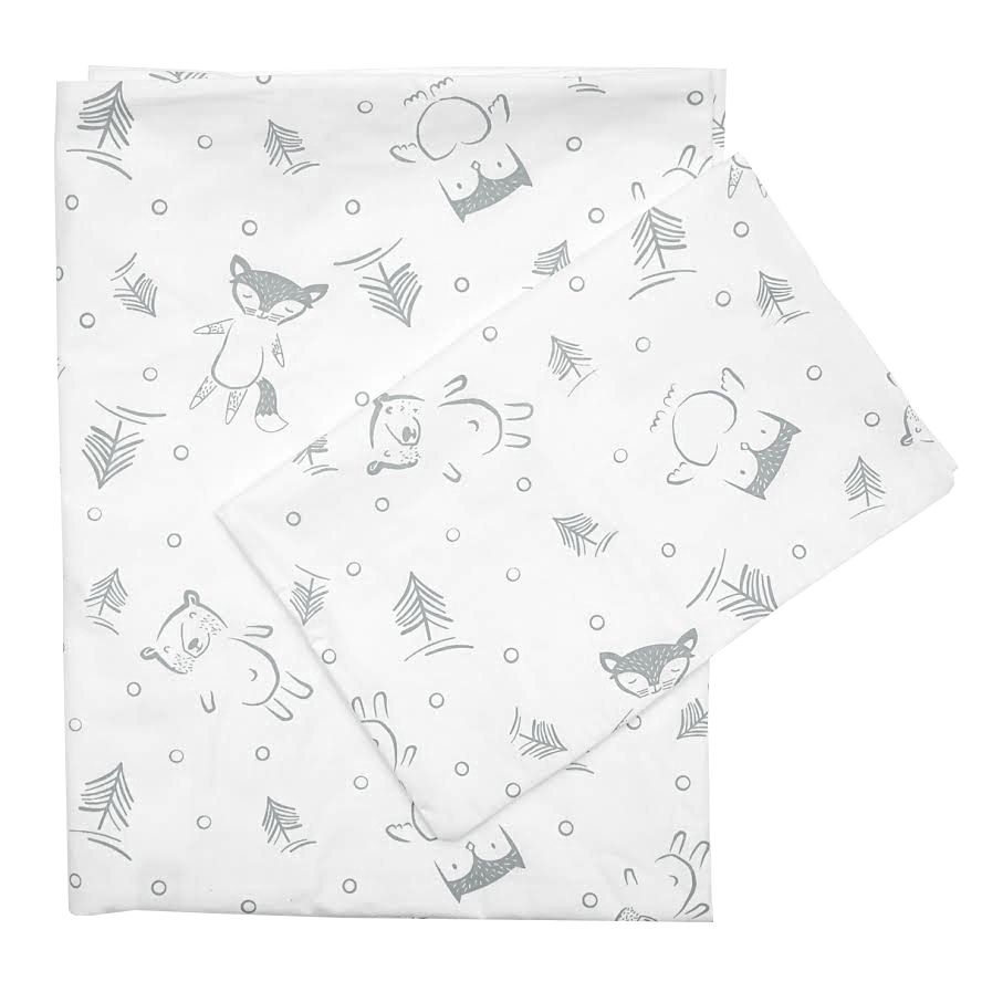Frorest Friends Large Cot Sheet
