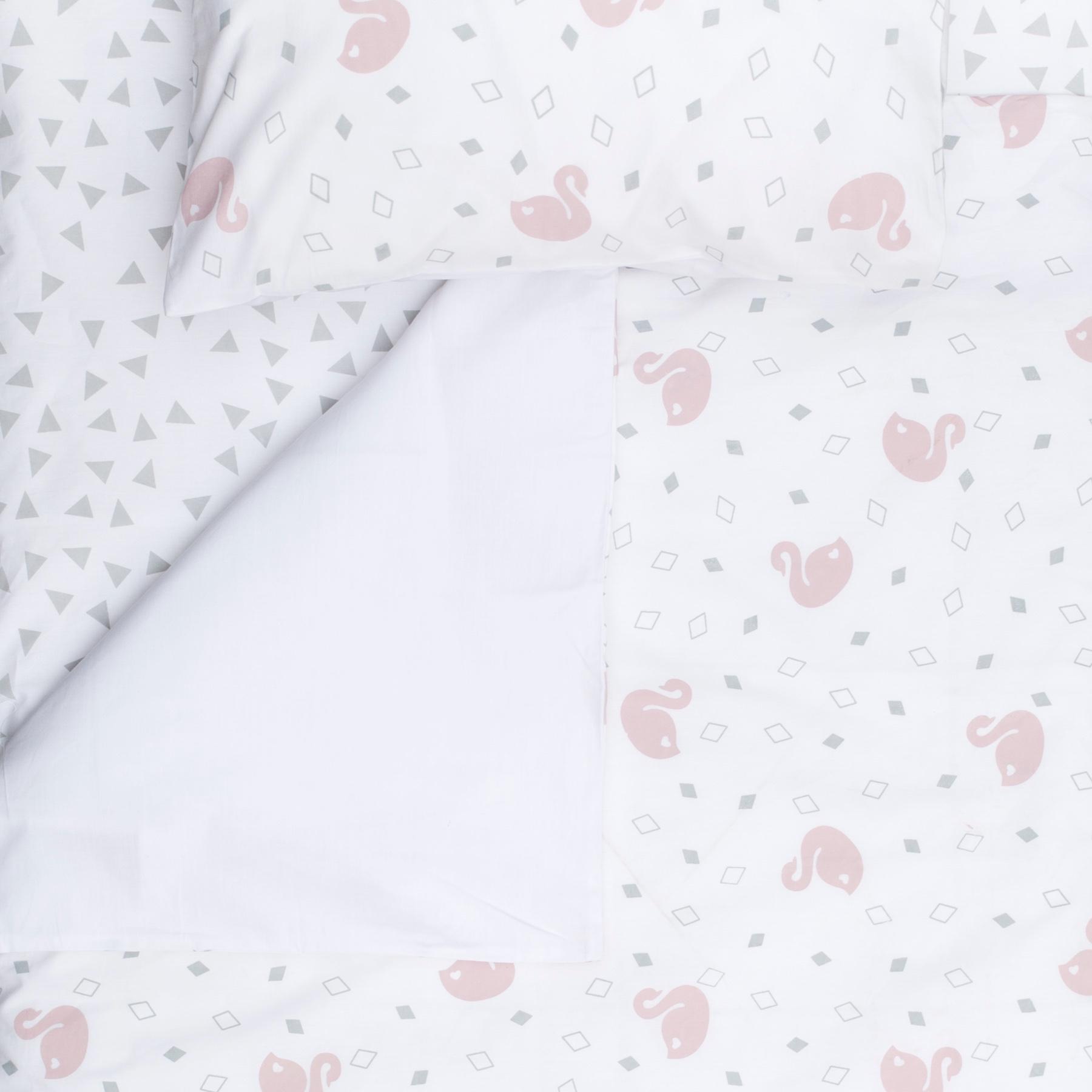 Swan Cot Sheet