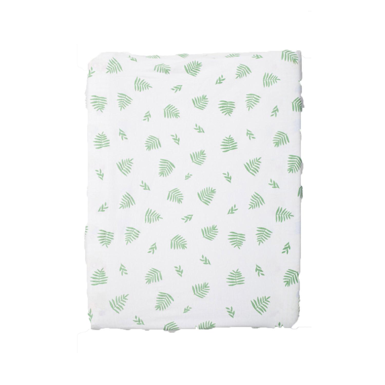 Change Mat Cover - Leaf on white