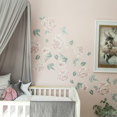 Wall Decals – Peonies