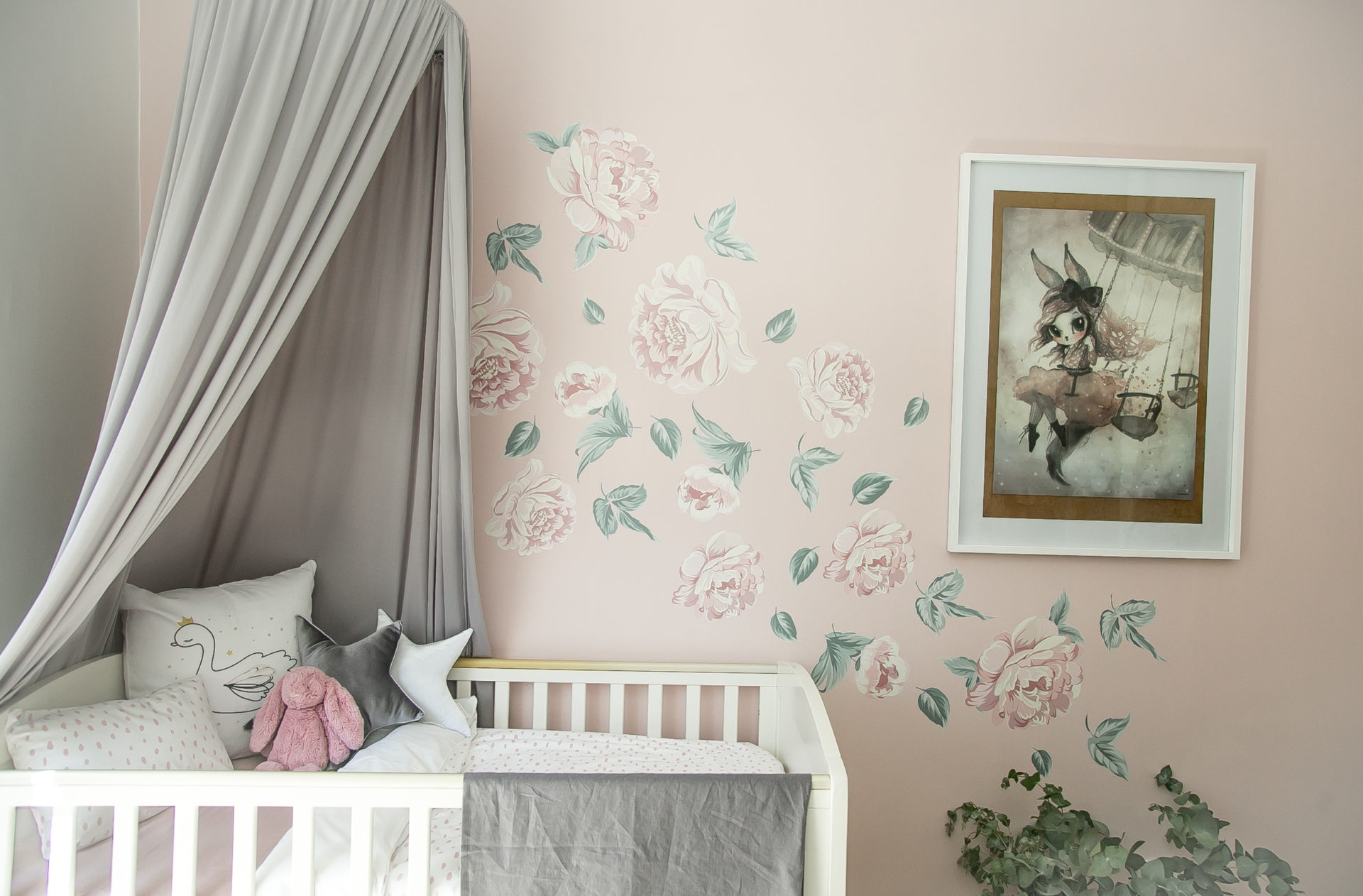 Wall Decals - Peonies