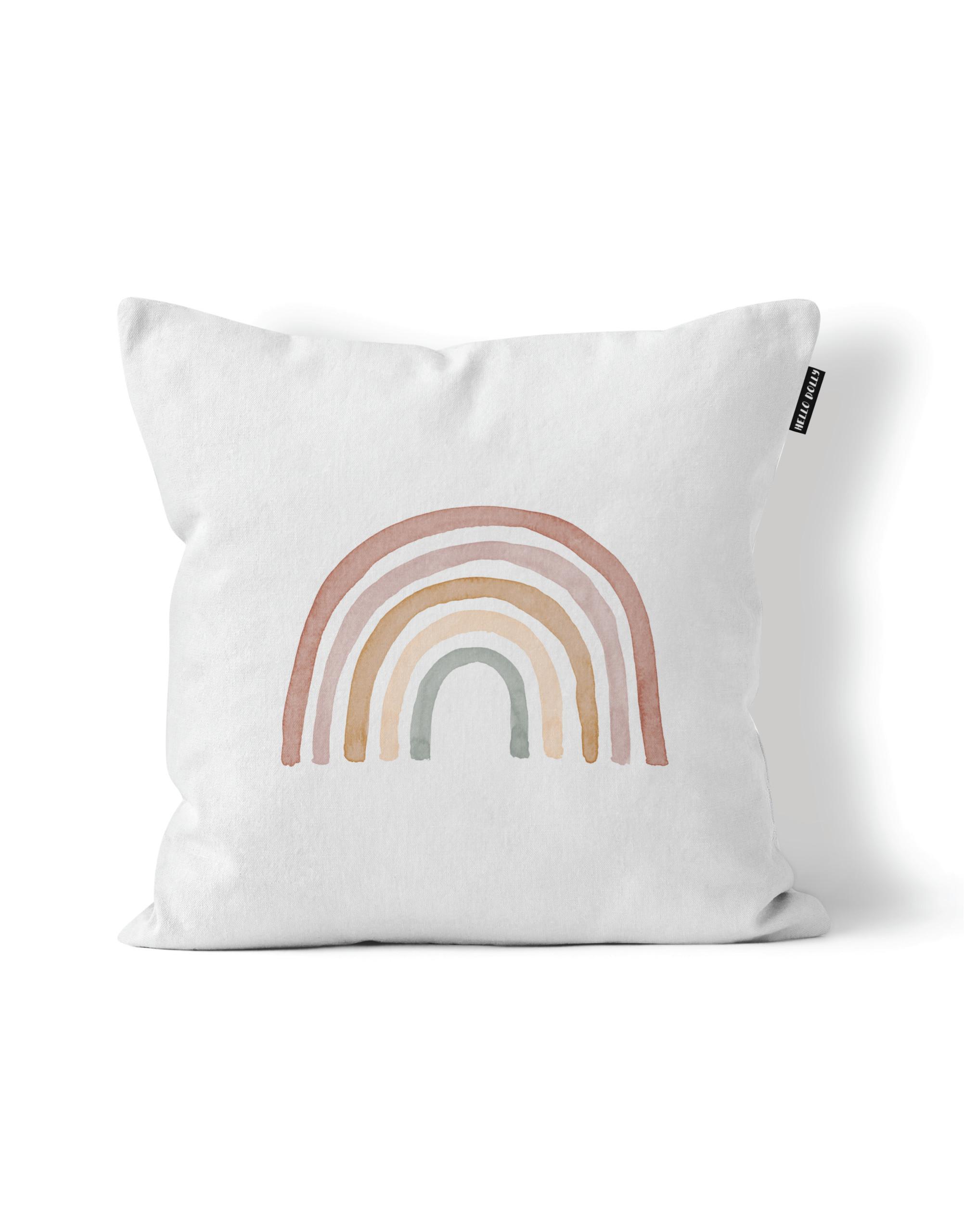 Rainbow Scatter Cushion Variation