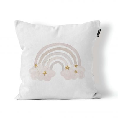 After Every Storm Rainbow Scatter Cushion Cover
