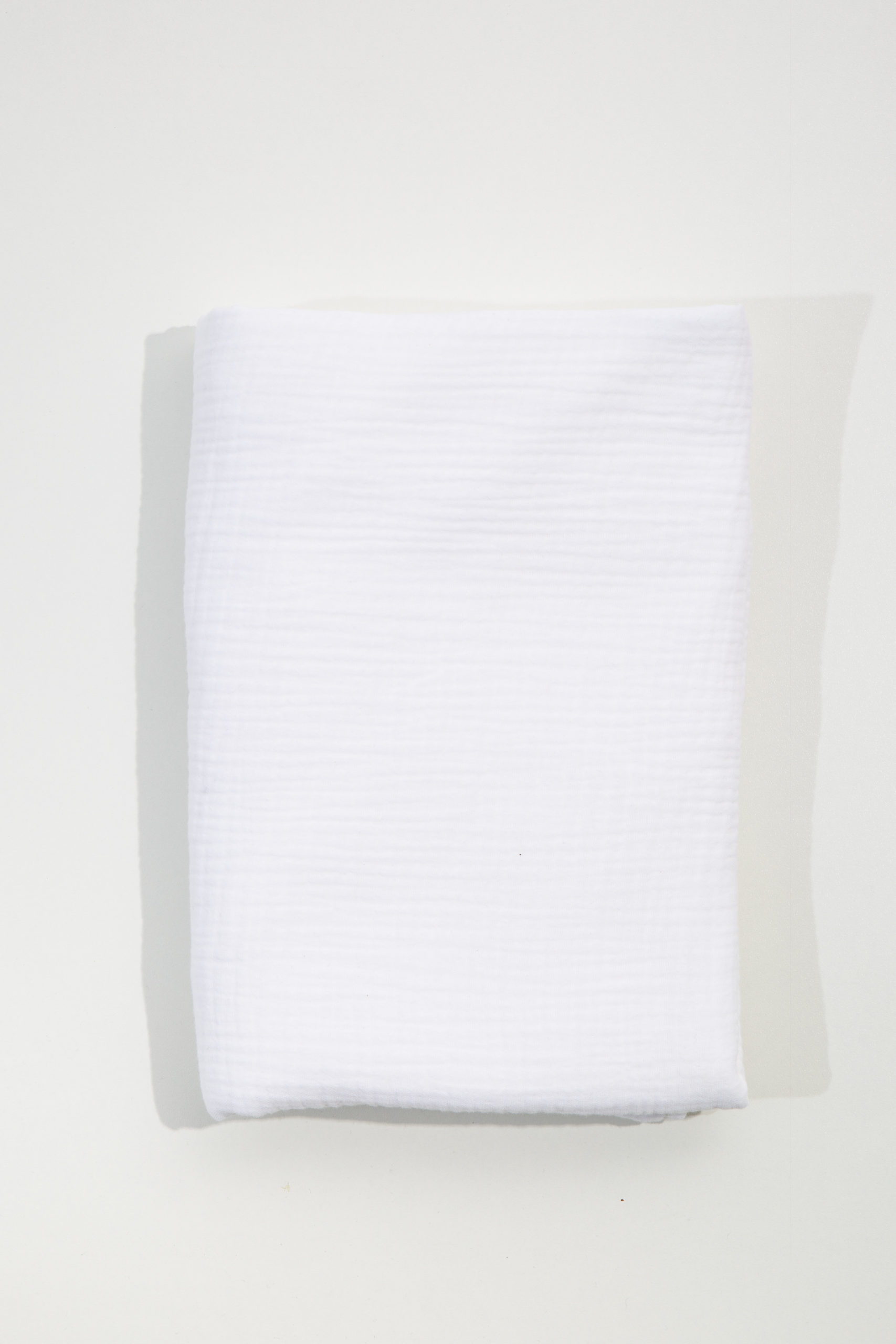 Muslin Cot Duvet - White