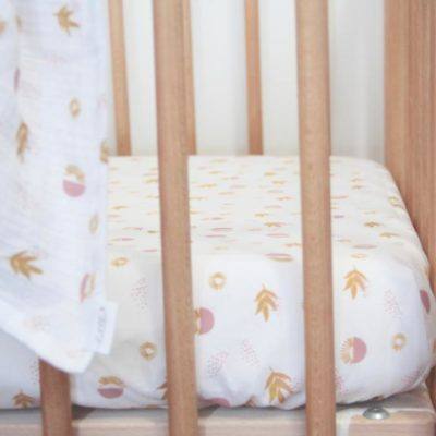 Large Cot Fitted Sheet – Boho