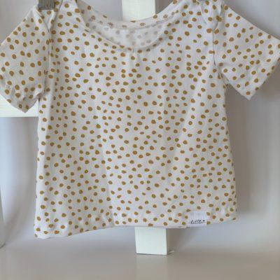 Messy Mustard T – Shirt:  0 – 3 Months