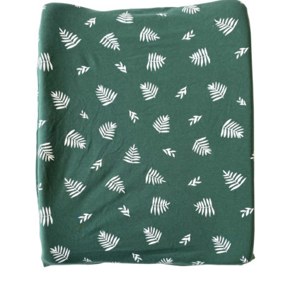 Change Mat Cover – Forest Green Leaf