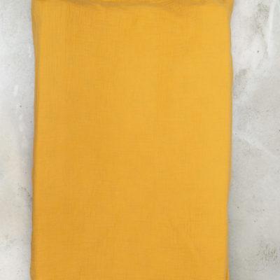 Muslin Change Mat Cover – Mustard