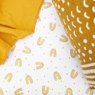 Caramel Rainbow – Single Bed Duvet Cover