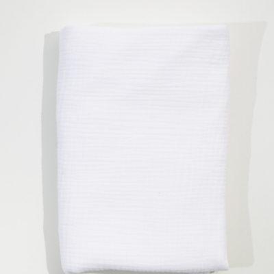 Single Bed Duvet Cover – White Muslin