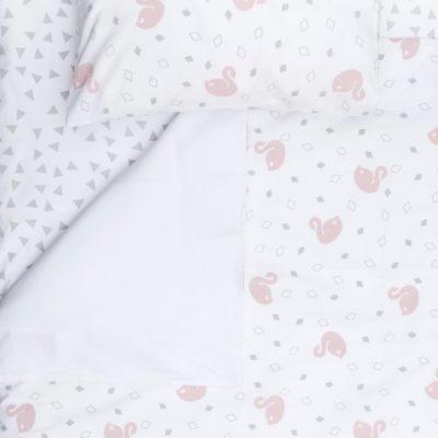 Cot Duvet Cover Set – Swan
