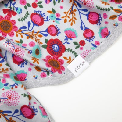 Stretchy Cotton Swaddle – Florals – LIMITED EDITION